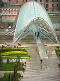 Ponte de vidro Imagem de Stock Royalty Free