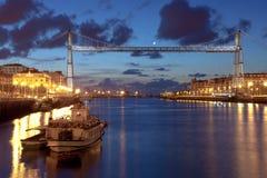 Ponte de Vizcaya Fotografia de Stock Royalty Free