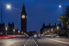 Ponte de Westminster em Londres imagem de stock royalty free