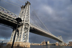 PONTE DE WILLIAMSBURG   Imagem de Stock Royalty Free