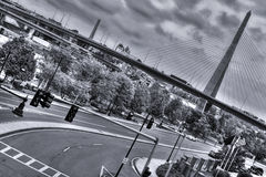 Ponte de Zakim Imagens de Stock Royalty Free