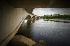 Ponte de Zamora outra vez Fotografia de Stock Royalty Free