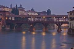 Ponte Degli Alpini在Bassano台尔Grappa,意大利 免版税库存照片