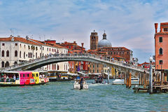 Ponte degli Scalzi in Venice, Italy Royalty Free Stock Photography