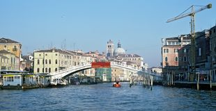 Ponte degli Scalzi at Venice Royalty Free Stock Image