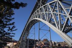 Ponte dei DOM LuÃs I o Ponte D LuÃs I Fotografia Stock