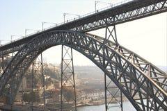 Ponte dei DOM LuÃs I a Oporto, Portogallo Immagini Stock