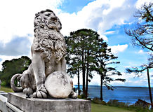 Ponte dei leoni Immagini Stock Libere da Diritti