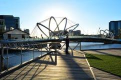Ponte dei marinai - Melbourne Fotografie Stock Libere da Diritti