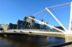 Ponte dei marinai - Melbourne Fotografia Stock