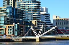 Ponte dei marinai - Melbourne Fotografia Stock Libera da Diritti