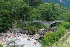 Ponte dei Salti Royaltyfri Bild