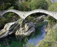 Ponte dei Salti Verzasca Royalty Free Stock Image