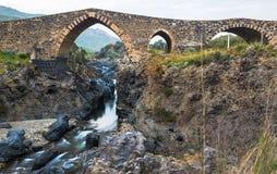 Ponte dei Saraceni Stock Photo