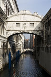 Ponte dei sospiri the bridge of sighs Royalty Free Stock Image