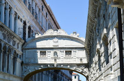 Ponte dei Sospiri : The Bridge of Sighs Royalty Free Stock Photography
