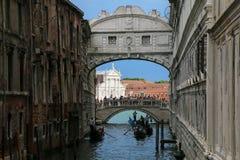 Ponte dei Sospiri Bridge of Sighs in Venice, Italy. Royalty Free Stock Photos