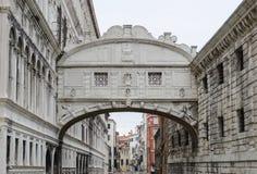 Ponte-dei Sospiri: Die Seufzerbrücke Lizenzfreie Stockfotografie