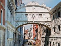 Ponte dei Sospiri, Venedig, Italien Royaltyfri Foto