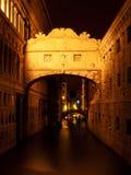 Ponte dei Sospiri, Venedig, Italien Royaltyfri Fotografi