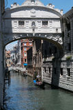 Ponte dei Sospiri a Venezia Stock Image