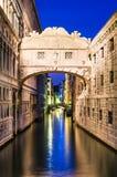 Ponte dei Sospiri in Venice, Bridge of Sighs royalty free stock photo