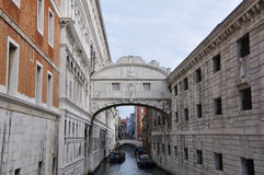 Ponte dei Sospiri. In Venice, Italy Royalty Free Stock Image