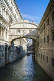 Ponte dei Sospiri in venice, italy 1. Ponte dei Sospiri in venice, italy - bridge of sighs / Seufzerbrücke Stock Photo