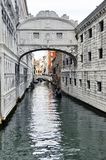Ponte dei sospiri in Venice, Italy Royalty Free Stock Images