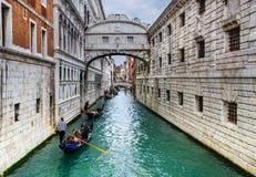 Ponte dei Sospiri, Wenecja, Włochy Obrazy Royalty Free