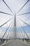 Ponte del Ada belgrado Fotografie Stock Libere da Diritti