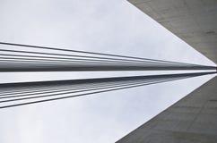 Ponte del Ada belgrado Fotografia Stock