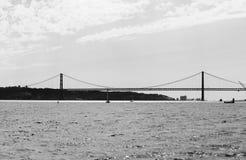 Ponte del 25 aprile Immagini Stock
