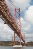 Ponte del 25 aprile Fotografia Stock Libera da Diritti