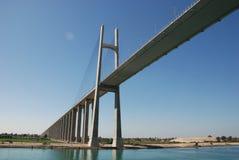 Ponte del canale di Suez Fotografia Stock Libera da Diritti