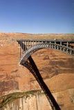 Ponte del canyon della valletta immagine stock