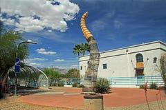 Ponte del crotalo in Tucson Arizona Fotografia Stock