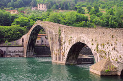 Ponte del Diavolo Royalty Free Stock Images