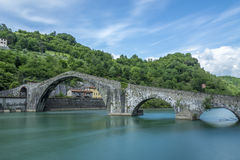 Ponte Del Diavolo Obrazy Royalty Free
