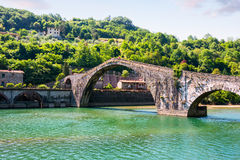 Ponte del Diavolo, Italy, Europe Royalty Free Stock Photography