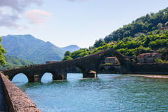 Ponte del Diavolo, Italy, Europe Royalty Free Stock Photos