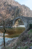 Ponte del Diavolo in Lanzo Torinese, Piedmont Royalty Free Stock Photos