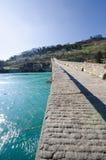 Ponte Del Diavolo oder Ponte-della Maddalena, Borgo ein Mozzano, LUC Lizenzfreie Stockfotos