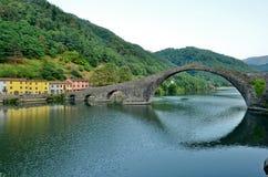 Ponte del diavolo, tuscany,Italy Royalty Free Stock Image