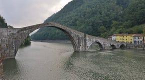 Ponte del diavolo, tuscany,Italy Royalty Free Stock Photography