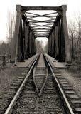 Ponte del ferro Fotografia Stock Libera da Diritti