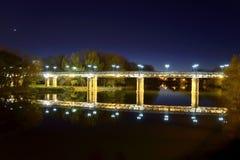 Ponte del ferro Immagini Stock Libere da Diritti