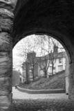 Ponte del ferro, Shropshire, Inghilterra Regno Unito Fotografia Stock