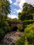 Ponte del fiume fotografia stock