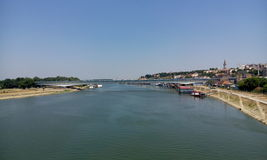 Ponte del fiume Fotografia Stock Libera da Diritti